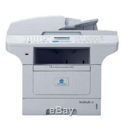 Konica Minolta Bizhub 20 MFP Multifunktionsdrucker S/W LAN unter 8.000 Seiten