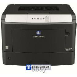 Konica Minolta Bizhub 3301P, erst 30 Seiten USB Netzwerk Duplex 33 Seiten p/M