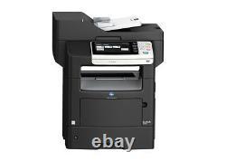 Konica Minolta Bizhub 4050 Mono Laser Printer Mfp Low Page Count Copy Fax Scan