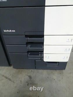 Konica Minolta Bizhub 808 copier printer scanner Only 246K copies 80 ppm