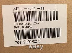 Konica Minolta Bizhub B&W 454 454e C454 C454e Genuine Fuser Unit A4FJ R704 44