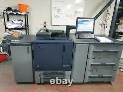 Konica Minolta Bizhub C1060 Colour Press With Paper Feed Unit, Finisher & Fiery