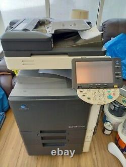 Konica Minolta Bizhub C220 A3 Colour Copier Printer Scanner Fax