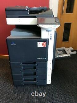 Konica Minolta Bizhub C220 Copier Printer Scanner Fax