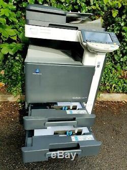 Konica Minolta Bizhub C220 Copier Printer Scanner Fax Panel Screen Broken