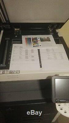Konica Minolta Bizhub C220 Farbe Laserdrucker Multifunktionsgerät mit duplex, LAN