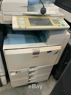 Konica Minolta Bizhub C224 Copier with Document Feeder, Pedestal