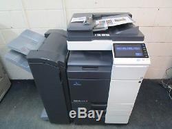 Konica Minolta Bizhub C224e Colour Photocopier & Staple Finisher