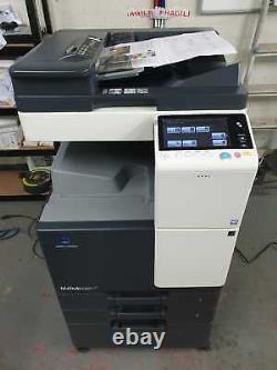 Konica Minolta Bizhub C227 Colour All-in-one Printer (79k Total Meter)