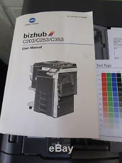 Konica Minolta Bizhub C253 Colour Photocopier