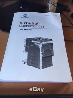 Konica Minolta Bizhub C253 Multi Function Printer Print, Scan, Fax, Copy
