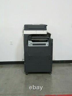 Konica Minolta Bizhub C258 color copier Only 31K copies 25 page per minute