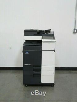 Konica Minolta Bizhub C258 color copier Only 72K copies 25 page per minute