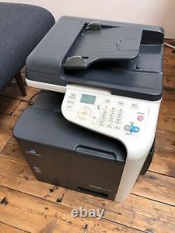 Konica Minolta Bizhub C25 A4 colour copier, printer, scanner. Multi sheet feeder