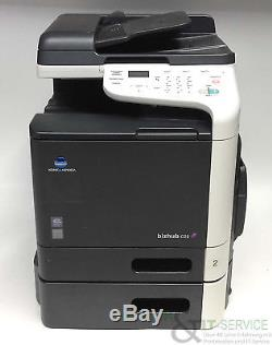 Konica Minolta Bizhub C25 A4 mfp farblaserdrucker gebraucht 22.000 gedr. Seiten