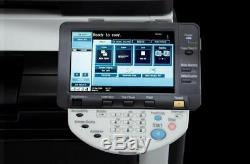 Konica Minolta Bizhub C280 Copy, print and scan Scan to Email, FTP and SMB PCL