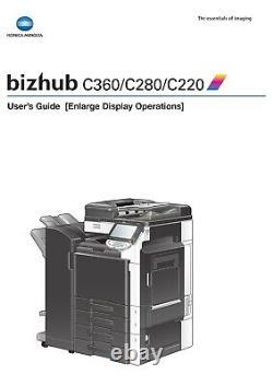 Konica Minolta Bizhub C280 MFP Printer