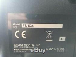 Konica Minolta Bizhub C308 Colour Photocopier Model C302301 Model SD-511 NO VAT