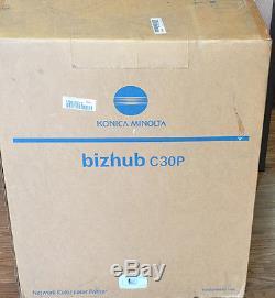 Konica Minolta Bizhub C30P Network Color Laser Printer