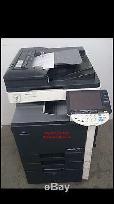 Konica Minolta Bizhub C353 Farbkopierer Drucker Scanner inkl. Fax Finisher