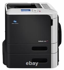 Konica Minolta Bizhub C35P Farblaserdrucker gebraucht 13.700 gedr. Seiten
