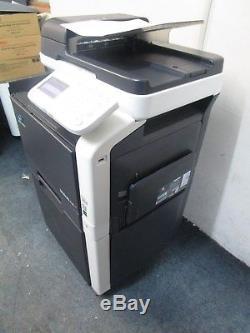 Konica Minolta Bizhub C35 A4 Colour Photocopier & Cabinet