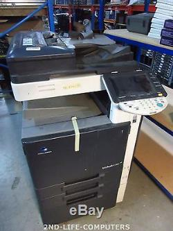 Konica Minolta Bizhub C360 Color Farbkopierer Scanner Drucker LAN USB NO POWER