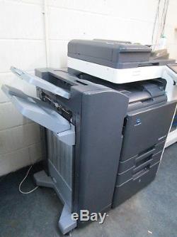 Konica Minolta Bizhub C360 Colour Photocopier, Fax & Staple Finisher