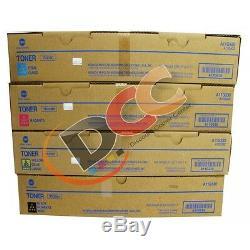 Konica Minolta Bizhub C360 Toner Set TN319C TN319Y TN319M TN319K