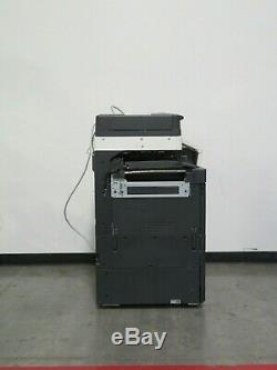 Konica Minolta Bizhub C368 color copier Only 136K copies 36 page per minute