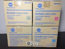 Konica Minolta Bizhub C3850/3350 TNP48Y TNP48C TNP48M TNP48K