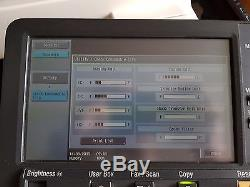 Konica Minolta Bizhub C451 Copier Printer Scanner + Finisher LOW PRINT COUNT