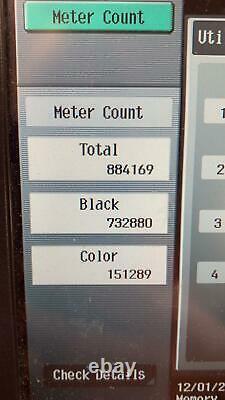 Konica Minolta Bizhub C452 Office Printer with Replacement Colour Cartridges