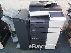Konica Minolta Bizhub C454e Colour Photocopier & Booklet Finisher