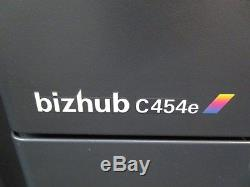 Konica Minolta Bizhub C454e Colour Photocopier, Fax & Staple Finisher