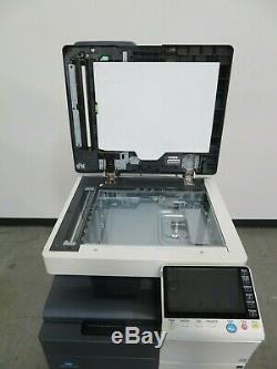 Konica Minolta Bizhub C454e color copier Only 77K copies 45 page per minute