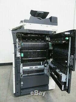 Konica Minolta Bizhub C454e color copier printer scan Only 213K copies 45 ppm