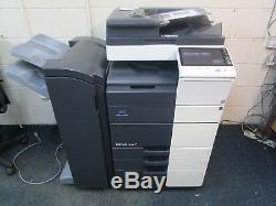 Konica Minolta Bizhub C554 Colour Photocopier, Staple Finisher & Fax Unit