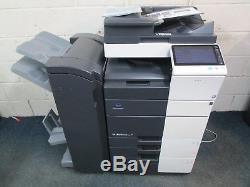Konica Minolta Bizhub C554e Colour Photocopier Booklet Finisher