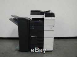 Konica Minolta Bizhub C554e color copier Only 280K copies 55 page per minute