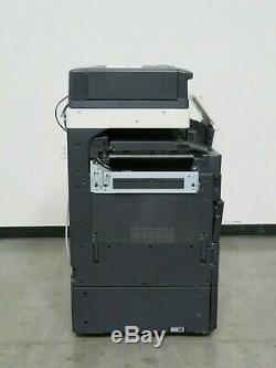 Konica Minolta Bizhub C558 color copier Only 122K copies 55 page per minute