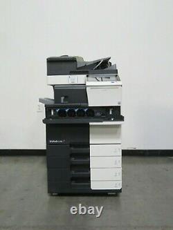 Konica Minolta Bizhub C558 color copier Only 150K copies 55 page per minute
