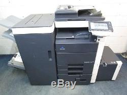 Konica Minolta Bizhub C652 Colour Photocopier & Saddle Booklet Finisher
