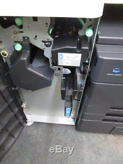 Konica Minolta Bizhub C652 Colour Photocopier & Staple Finisher