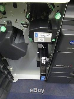 Konica Minolta Bizhub C654e Colour Photocopier & Staple Finisher