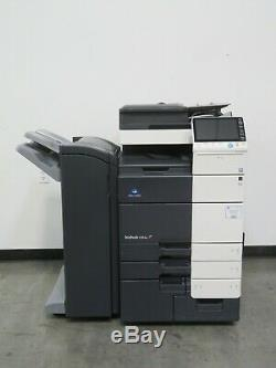 Konica Minolta Bizhub C654e color copier Only 136K copies 65 page per minute