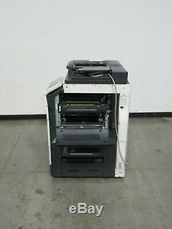 Konica Minolta Bizhub C654e color copier Only 147K copies 65 page per minute