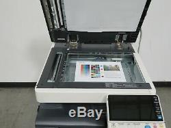 Konica Minolta Bizhub C654e color copier Only 153K copies 65 page per minute