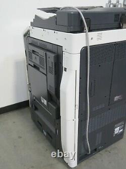 Konica Minolta Bizhub C654e color copier printer scanner Only 247K copies 65 ppm