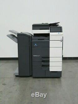 Konica Minolta Bizhub C754e C754 color copier Only 386K copies 75 ppm